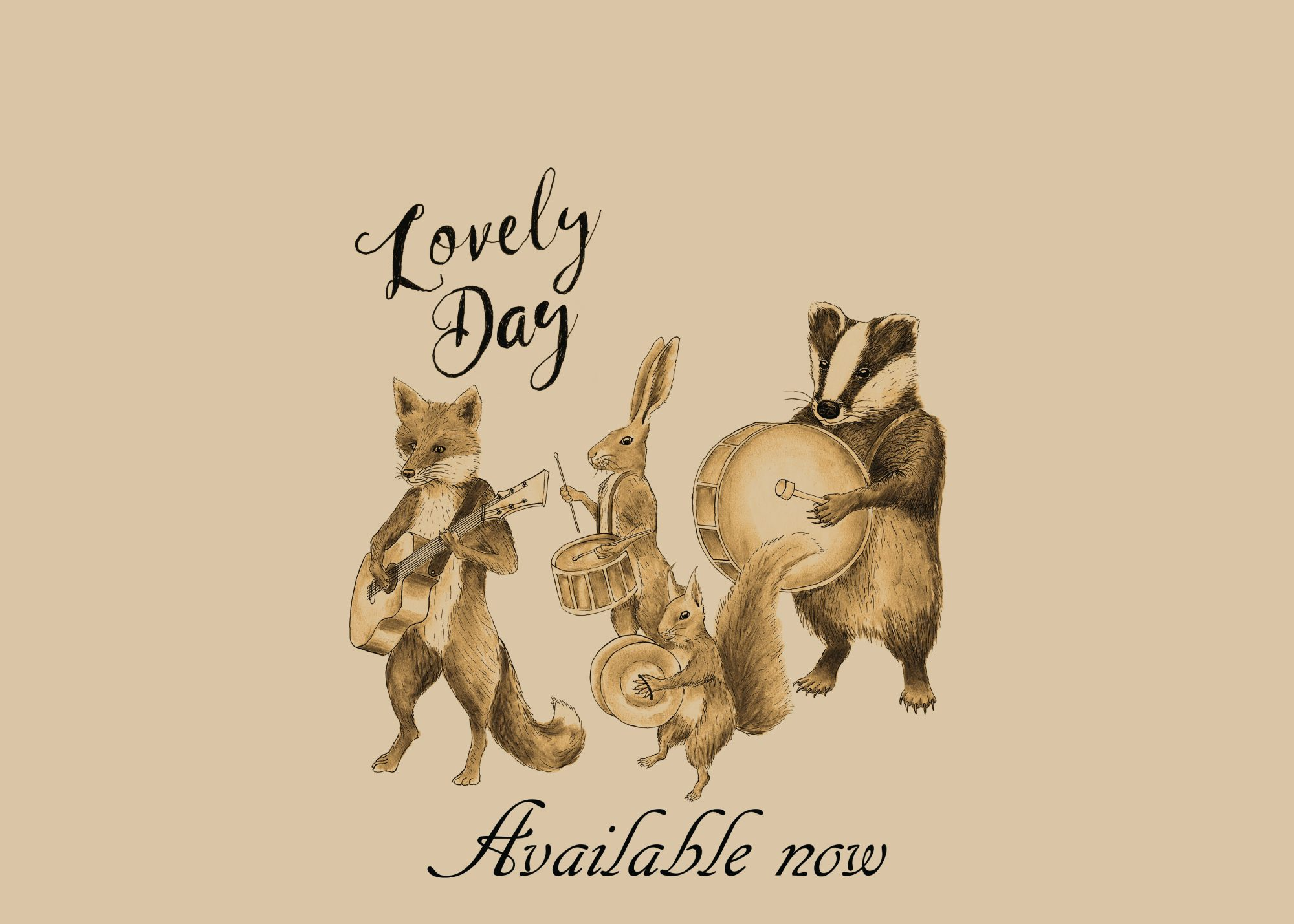 Lovely Day website banner