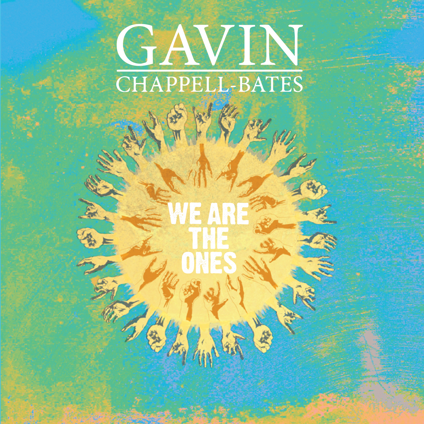 We Are The Ones cover (Stewart Harris design)