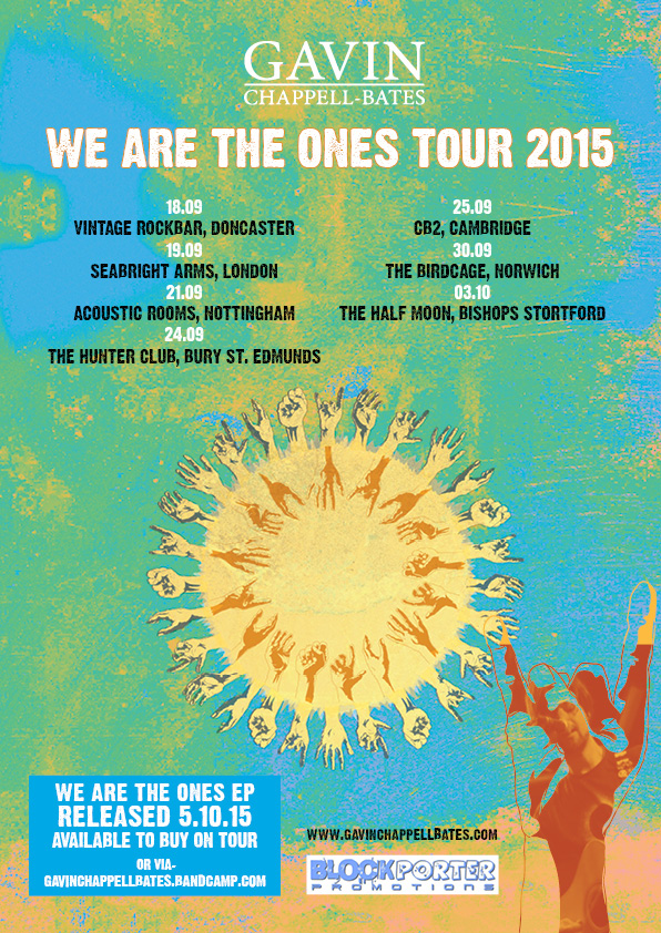 We Are The Ones tour poster