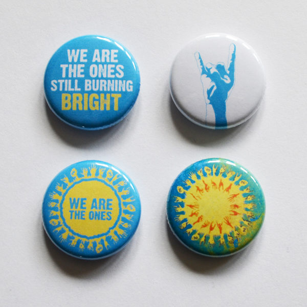 We Are The Ones 4 badge set