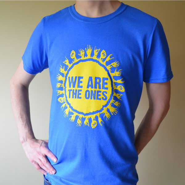 Mens We Are The Ones t-shirt