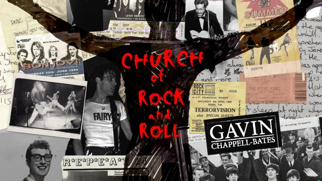 Gavin Chappell-Bates - Church Of Rock 'N' Roll single cover