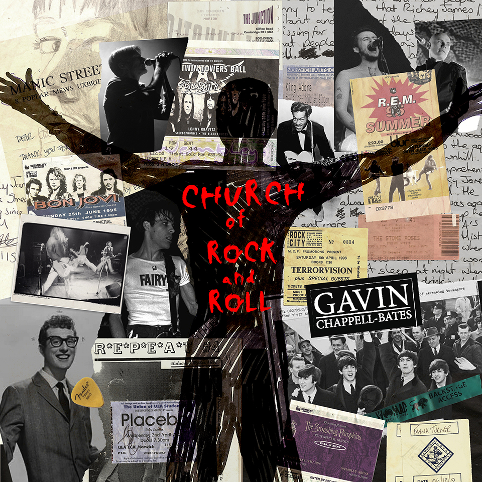 Gavin Chappell-Bates - Church Of Rock 'N' Roll single cover 960px