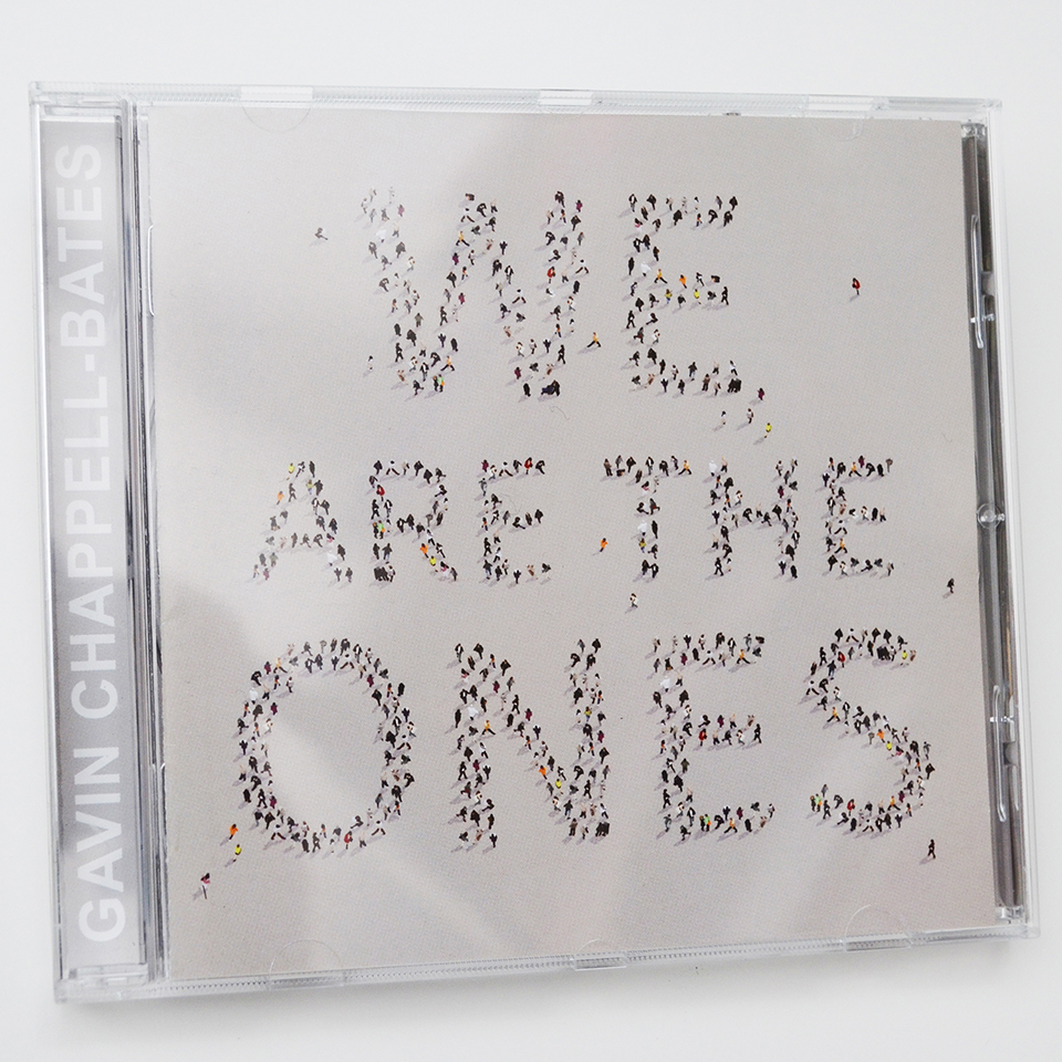We Are The Ones CD front cover