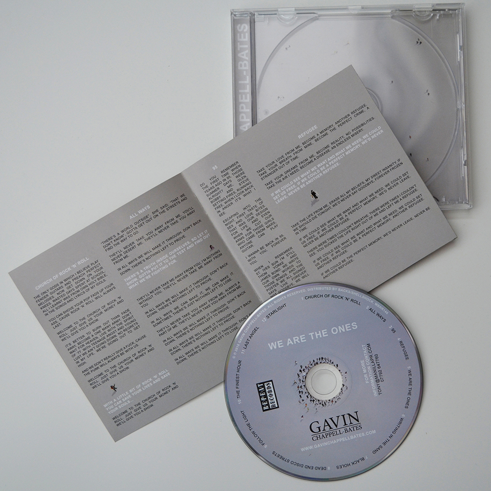 We Are The Ones CD with lyric book 2