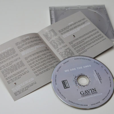 We Are The Ones CD with lyric book