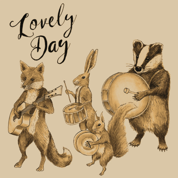 Lovely Day single artwork