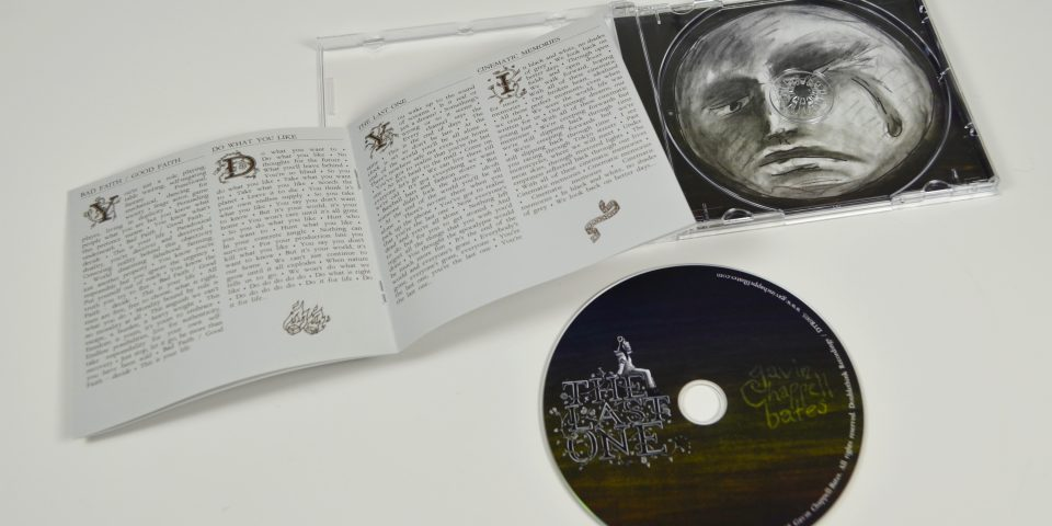 The Last One CD – case, sleeve and disc